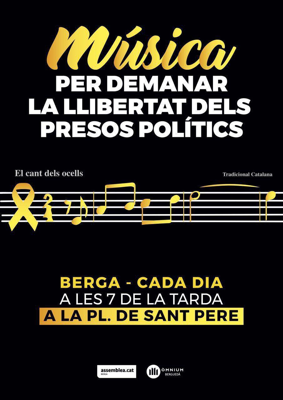 Música per demanar la llibertat dels presos polítics