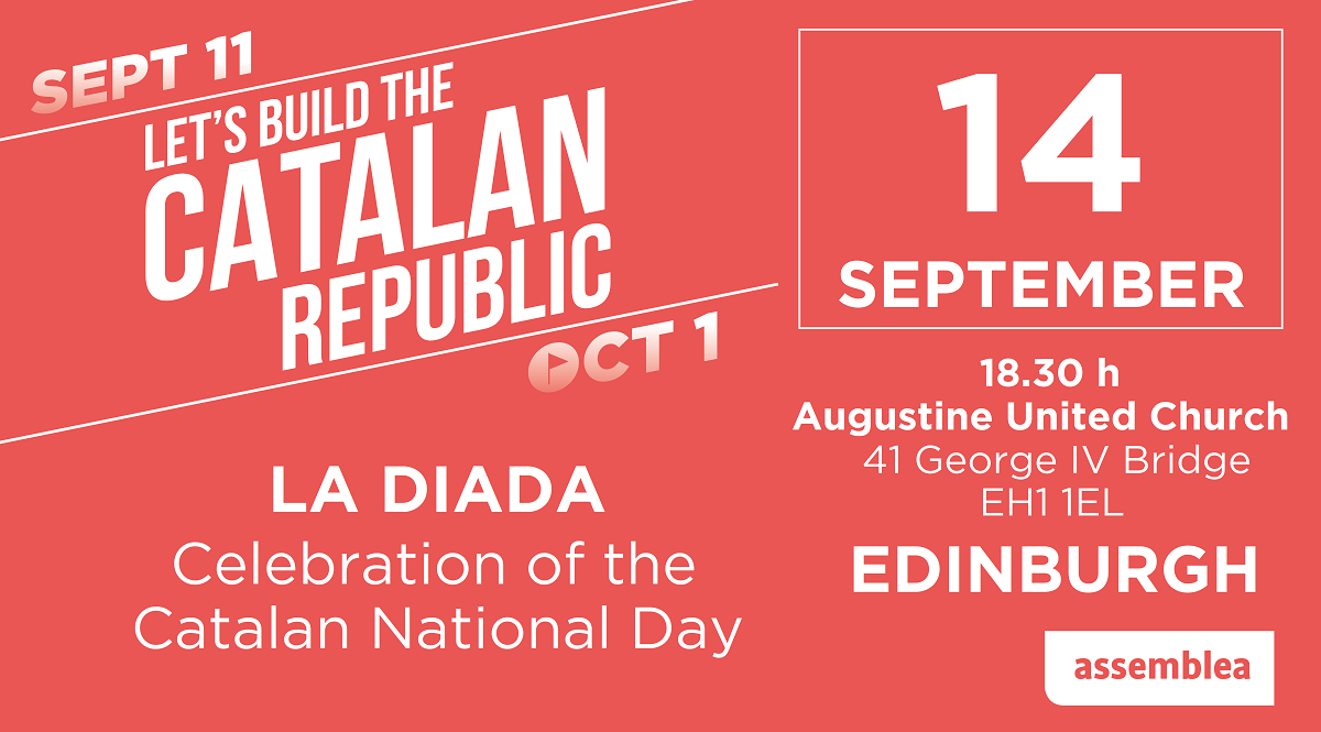 La Diada - celebration of the Catalan National Day