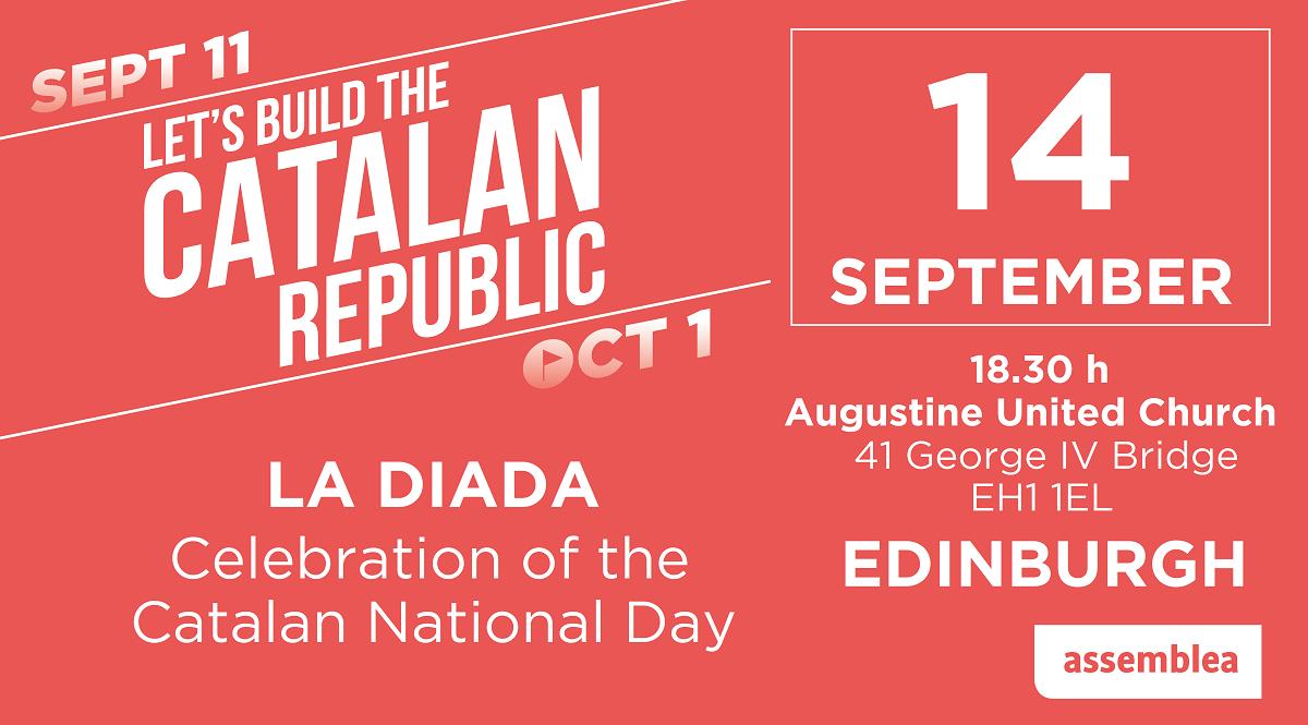 La Diada - celebration of the Catalan National Day