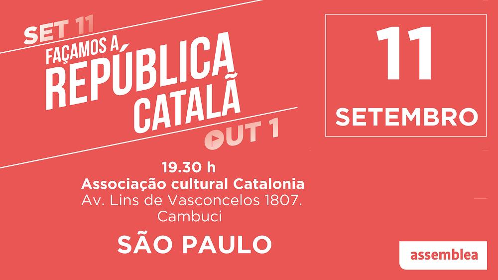 Façamos a República catalã