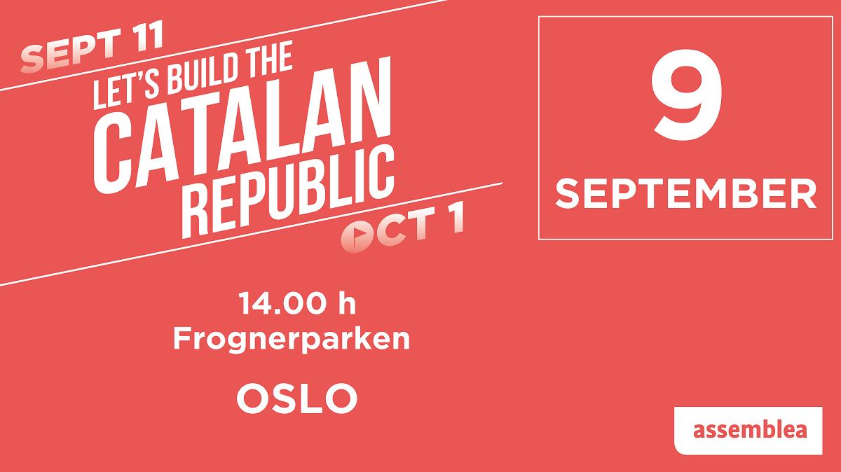 Diada Nacional Catalana - Oslo