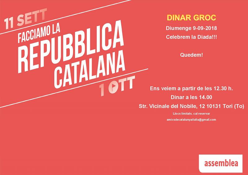 Facciamo la Repubblica Catalana