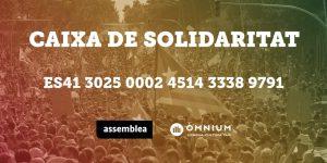La Caixa de Solidaritat recull 300.000 € en tres dies