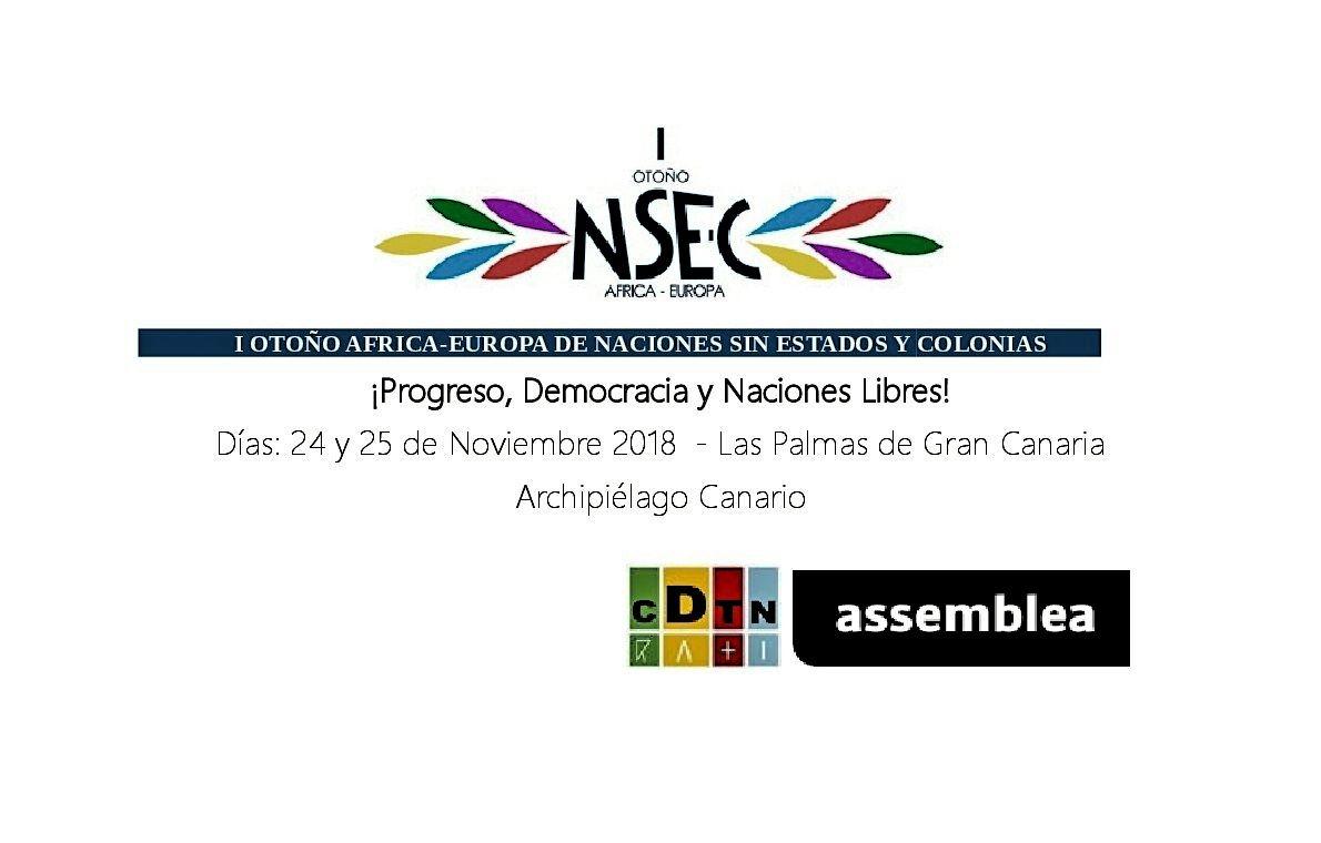 ¡Progreso, Democracia y Naciones Libres!