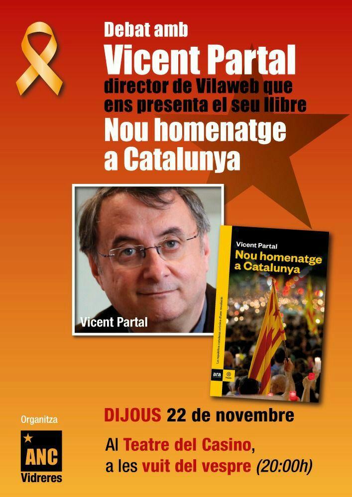 Nou homenatge a Catalunya