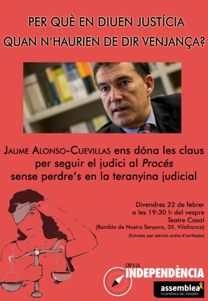 Conferència Jaume Alonso-Cuevillas