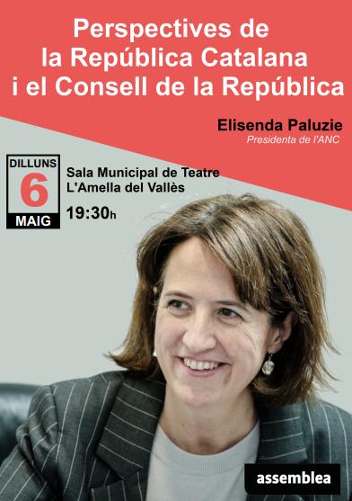 Xerrada-debat amb Elisenda Paluzie