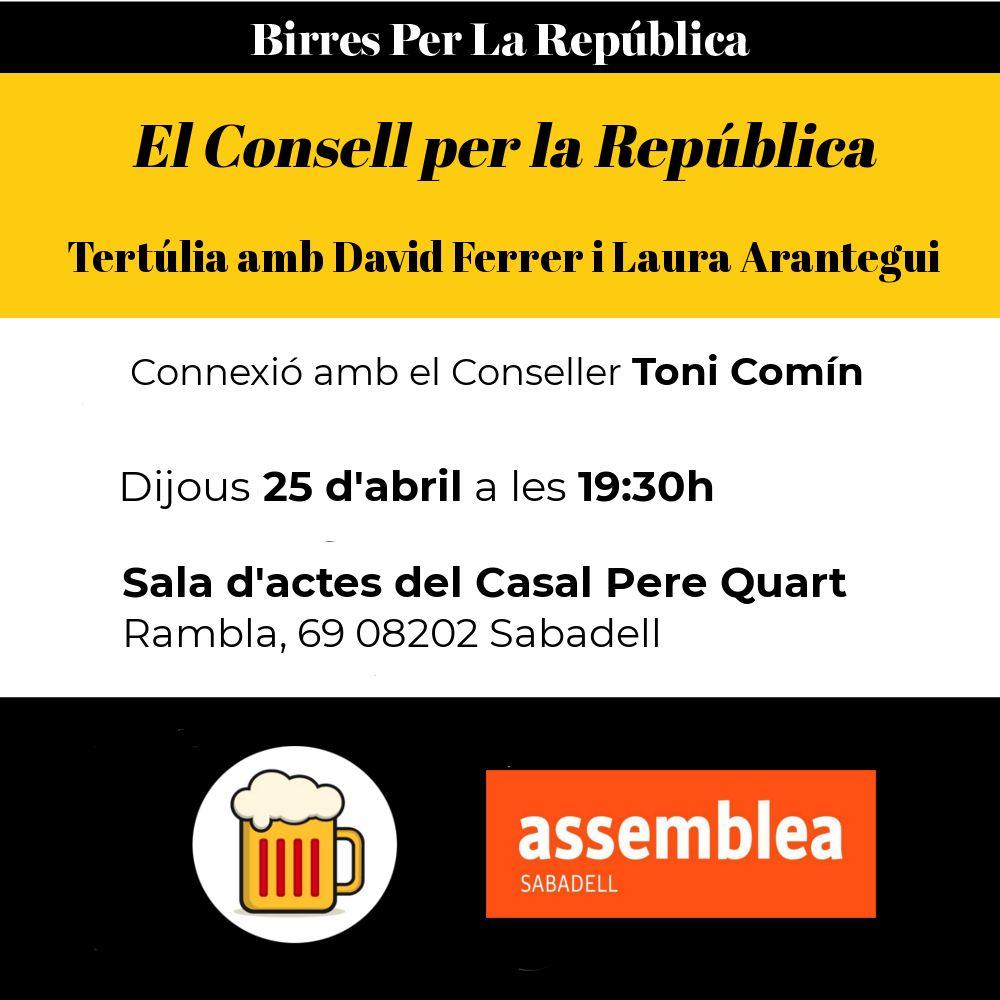 El Consell per la República es presenta a Sabadell