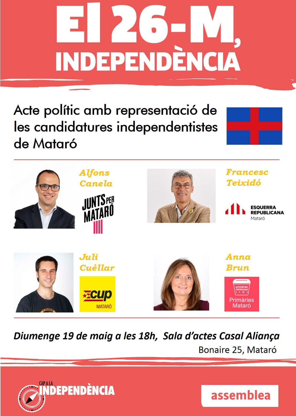El 26 -M, independència!