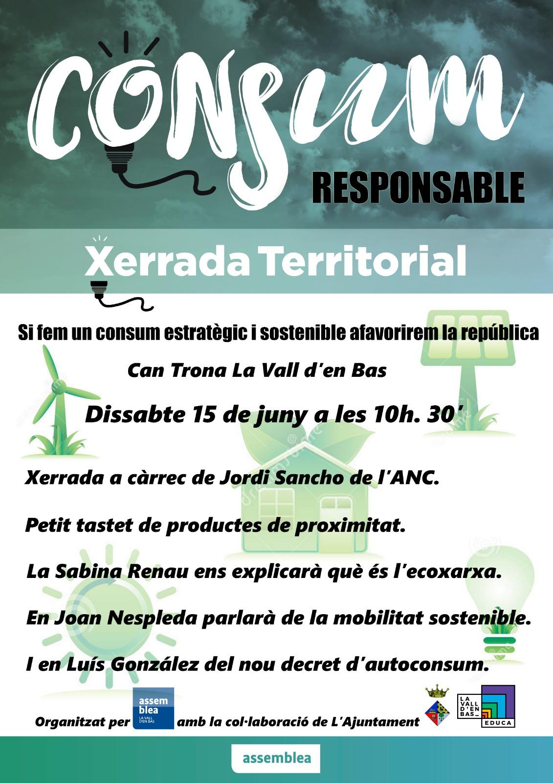Xerrada sobre Consum Estratègic a la Vall d'en Bas