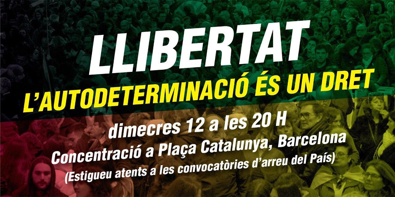 Llibertat: l'autodeterminació és un dret!