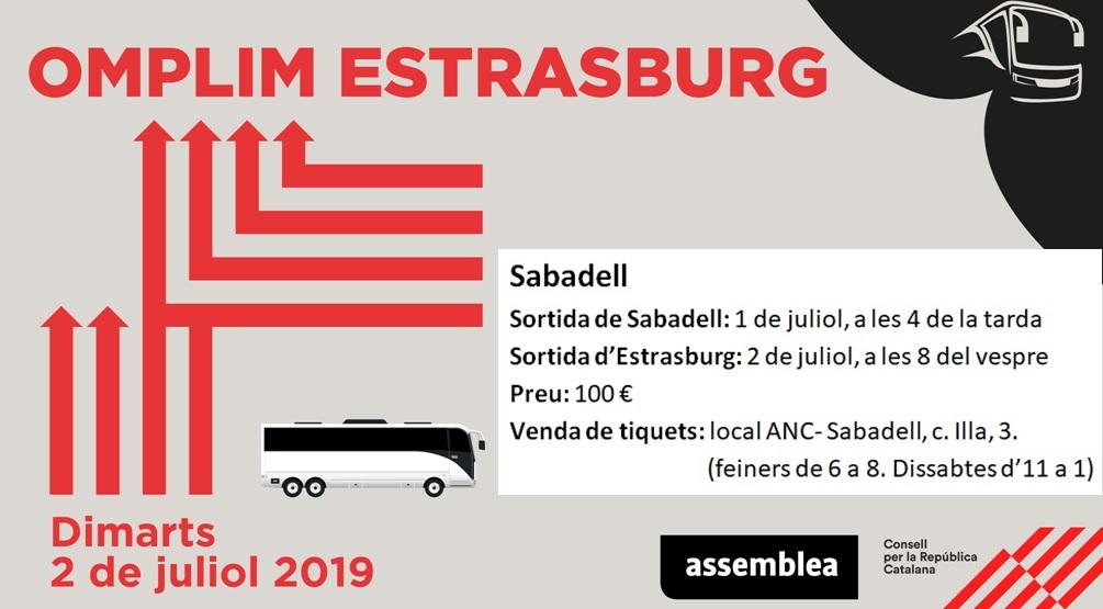 Omplim Estrasburg - Venda de tiquets d'autocar des de Sabadell