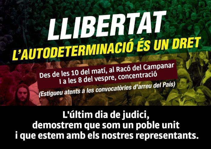 LLIBERTAT L'autodeterminació és un dret!