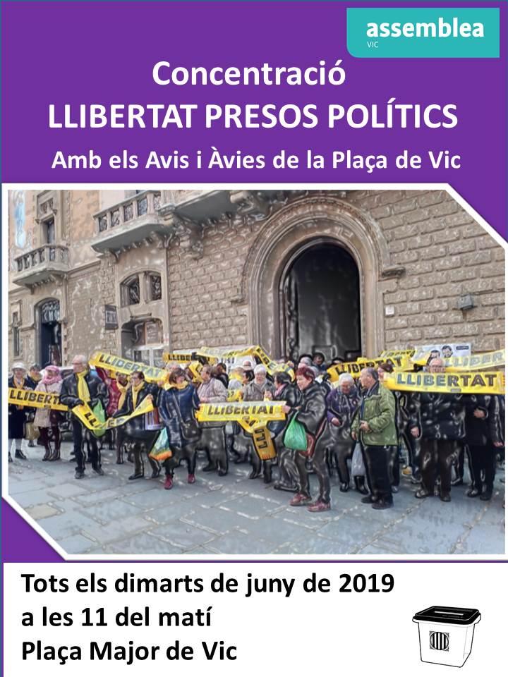 Concentració llibertat presos polítics