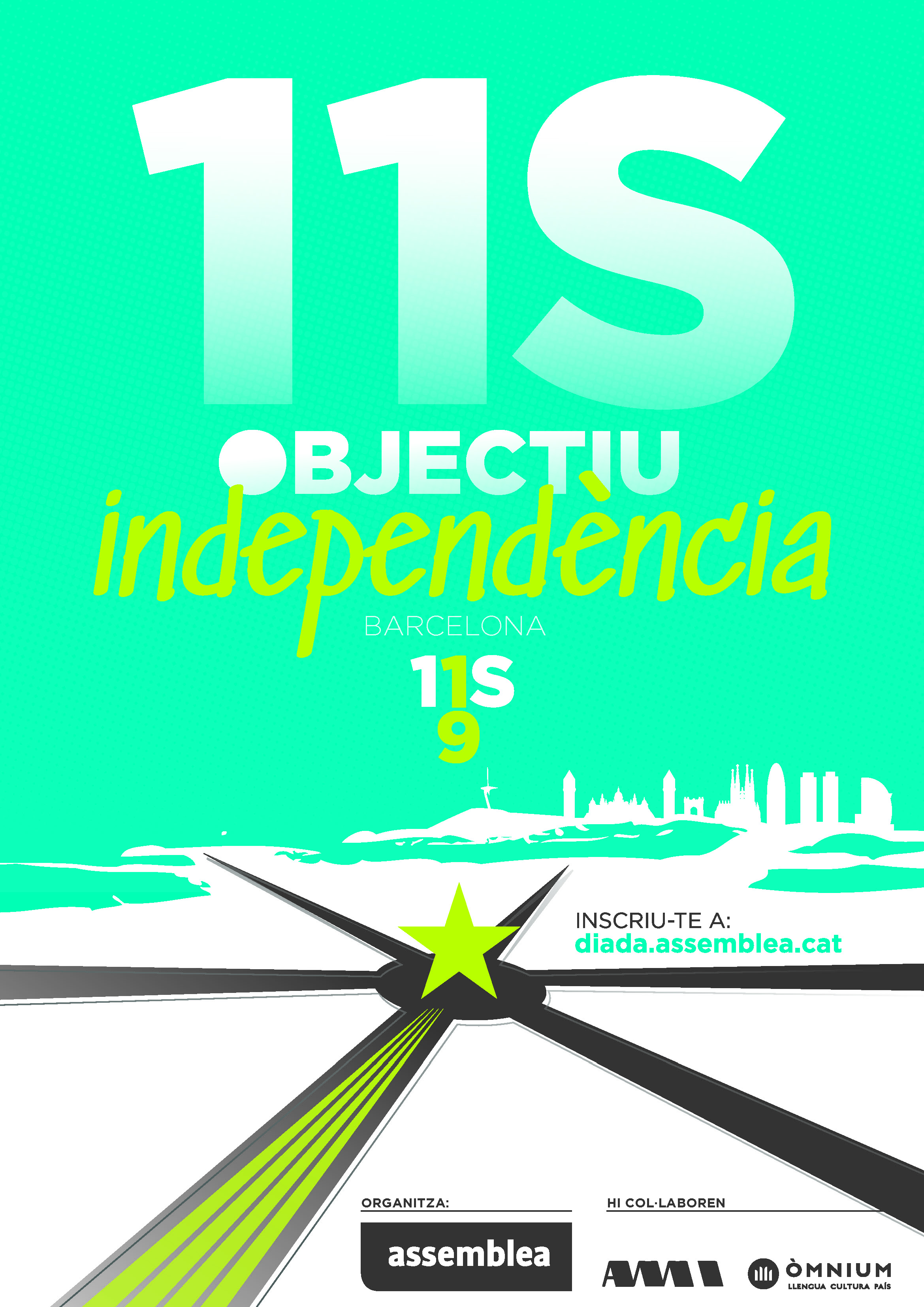 Diada 2019 - Objectiu Independència
