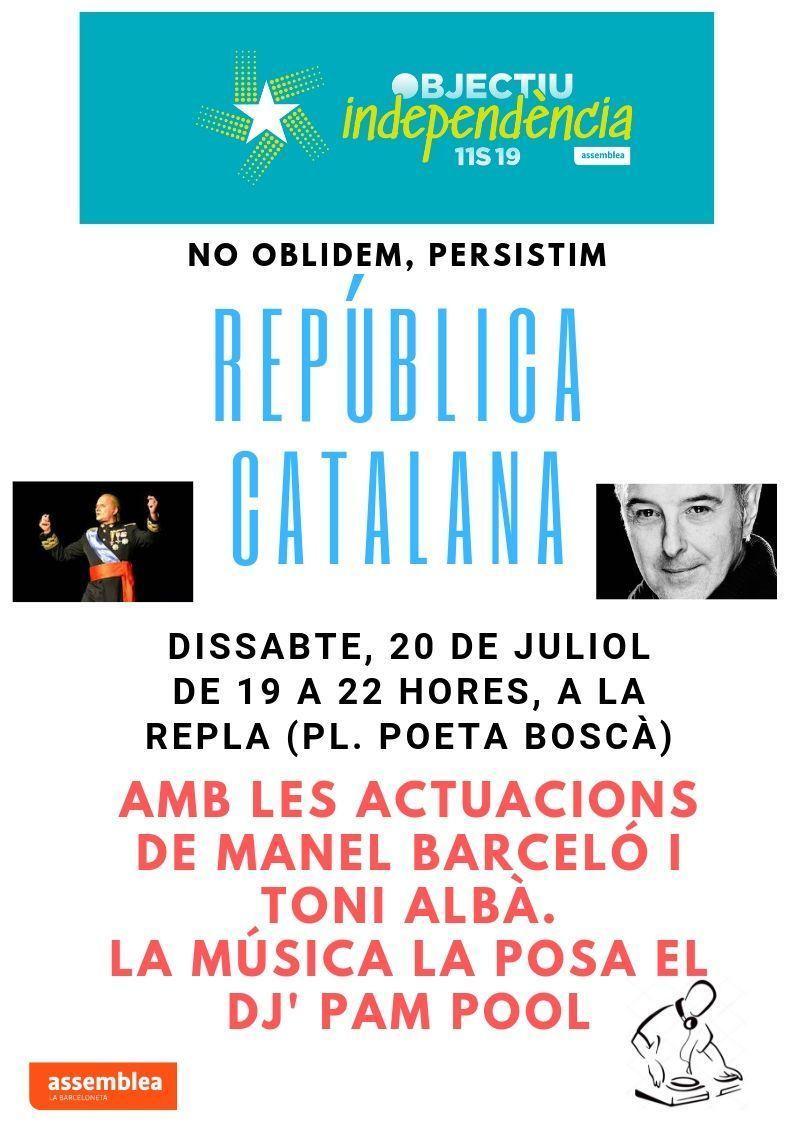 República Catalana: no oblidem, persistim