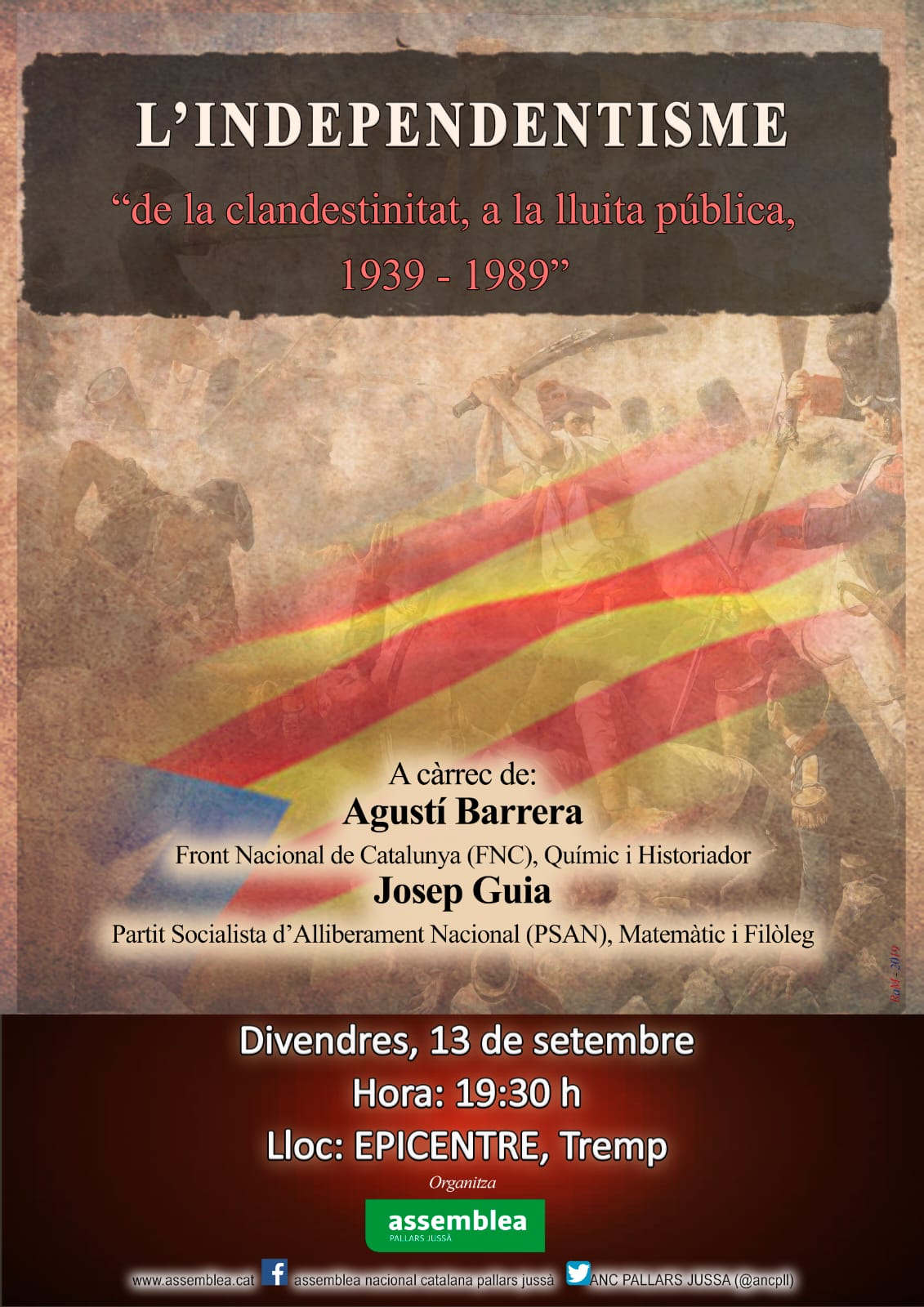 L'independentisme, de la clandestinitat a la lluita pública