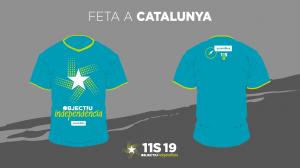 Objectiu Independència 11S: samarretes i tiquets d'autobús