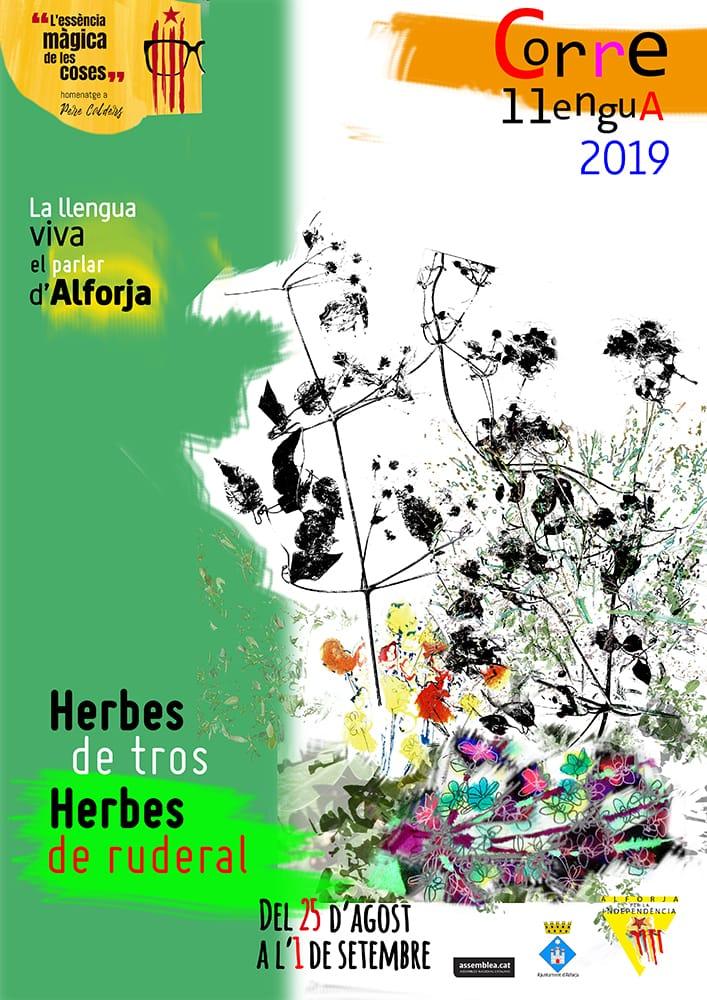 Correllengua 2019 Herbes de tros, Herbes de ruderal