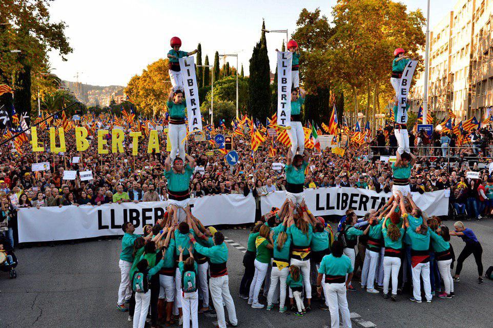 Manifestació Marina 26-O