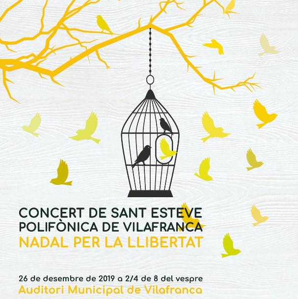 Concert de Sant Esteve a càrrec de la Polifònica de Vilafranca