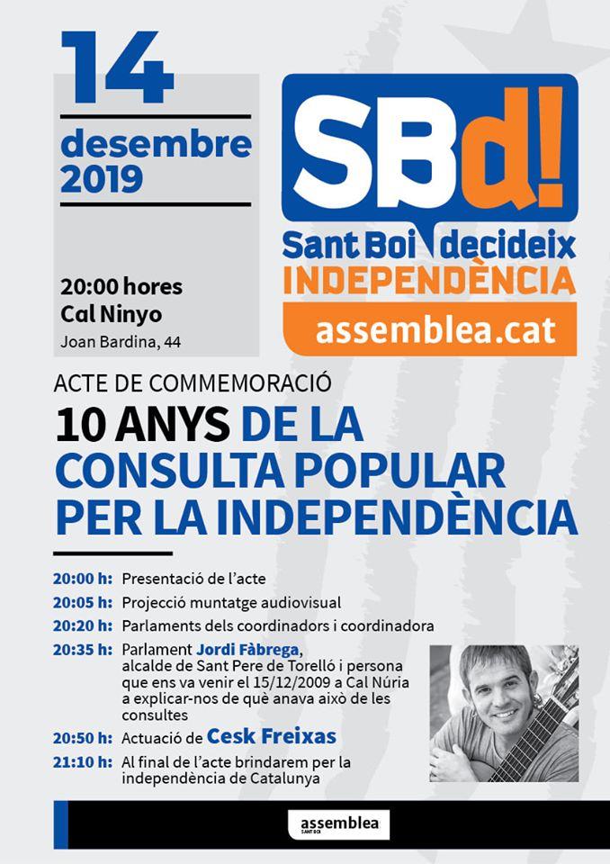 10 anys de la consulta popular per la independència