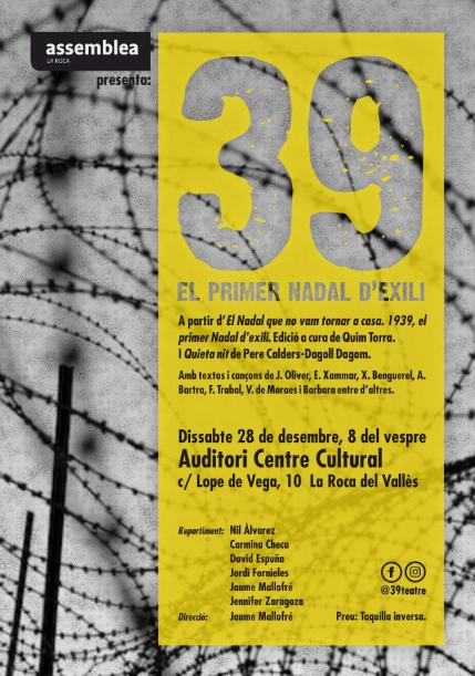 '39, el primer Nadal d'exili' a La Roca del Vallès
