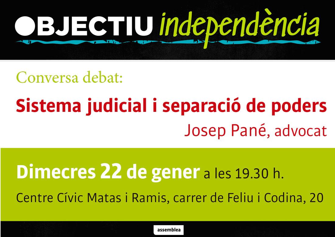 Sistema judicial i separació de poders