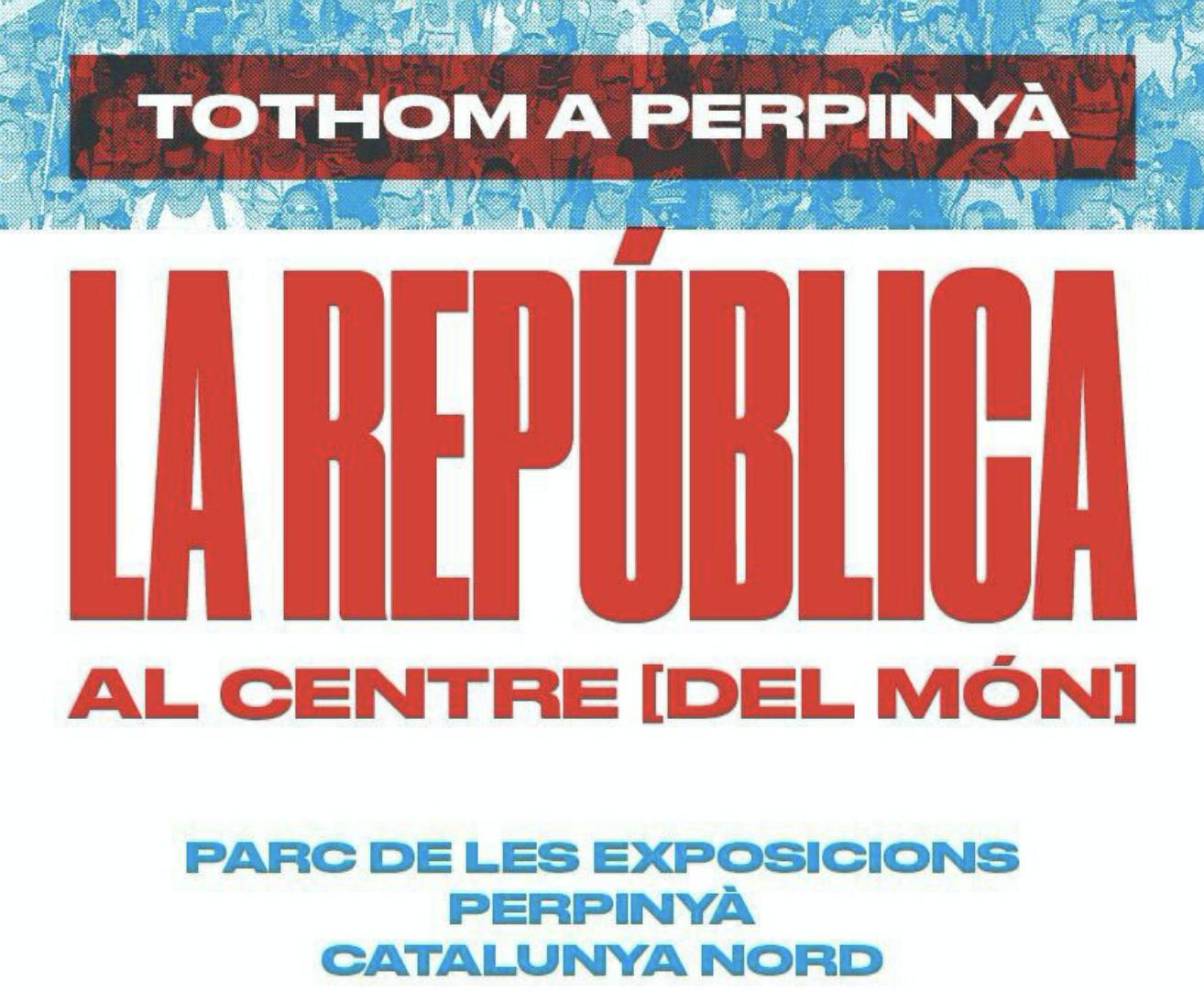 La República catalana al centre del món