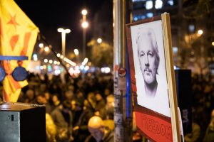 Protesta Global Assange