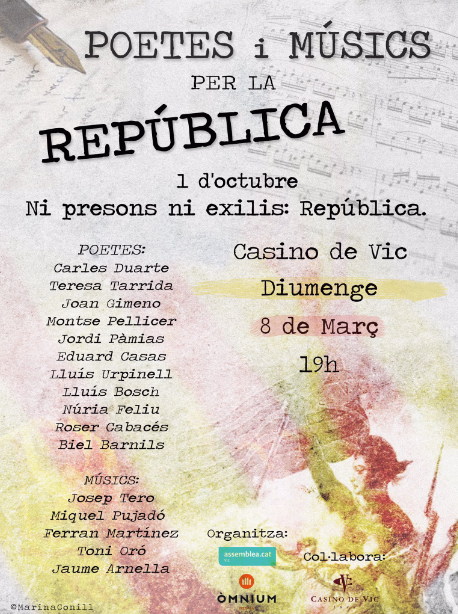 Ni presons, ni exilis: República