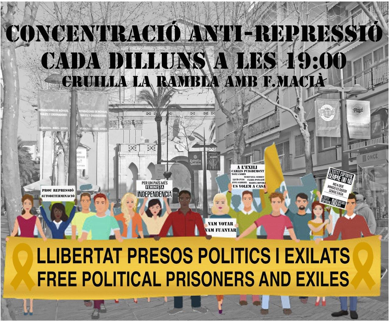 Denunciem la repressió de l'estat espanyol