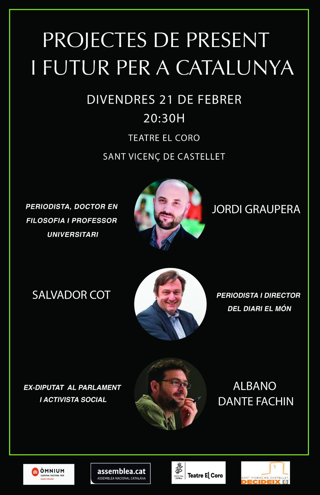Projectes de present i futur per a Catalunya