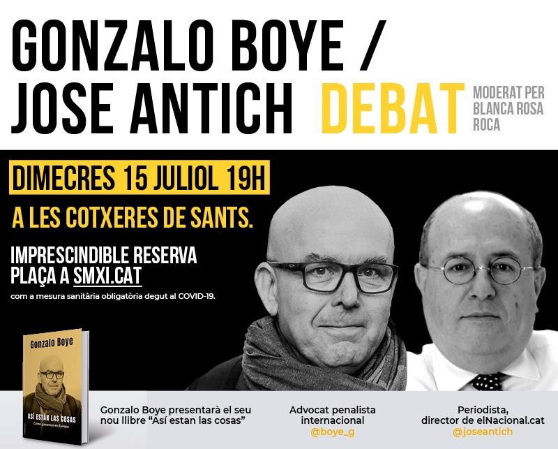 Debat Gonzalo Boye / José Antich