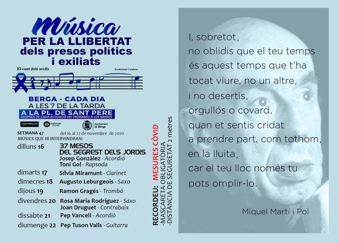 Cada dia Música per la llibertat
