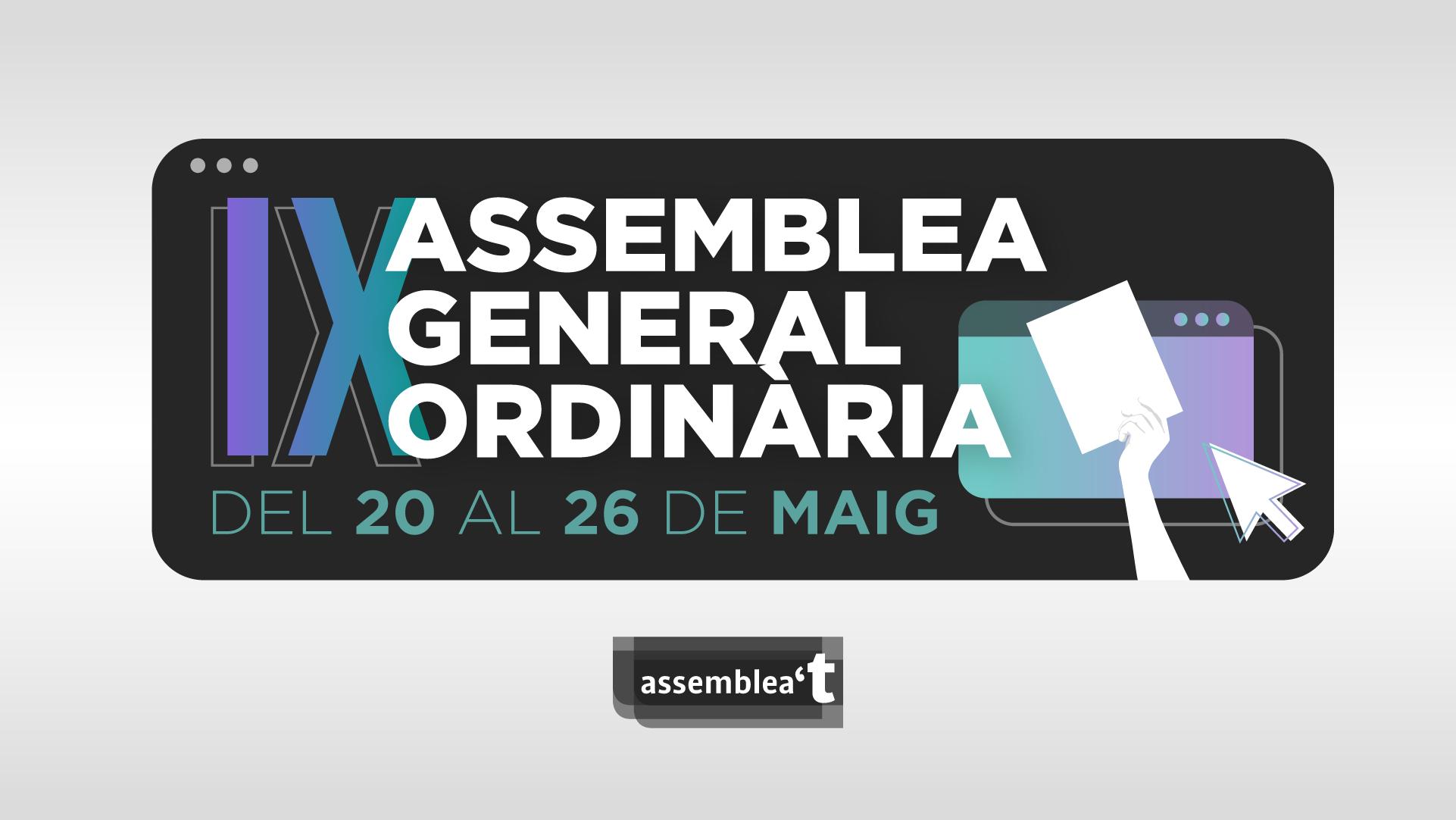 IX Assemblea General Ordinària