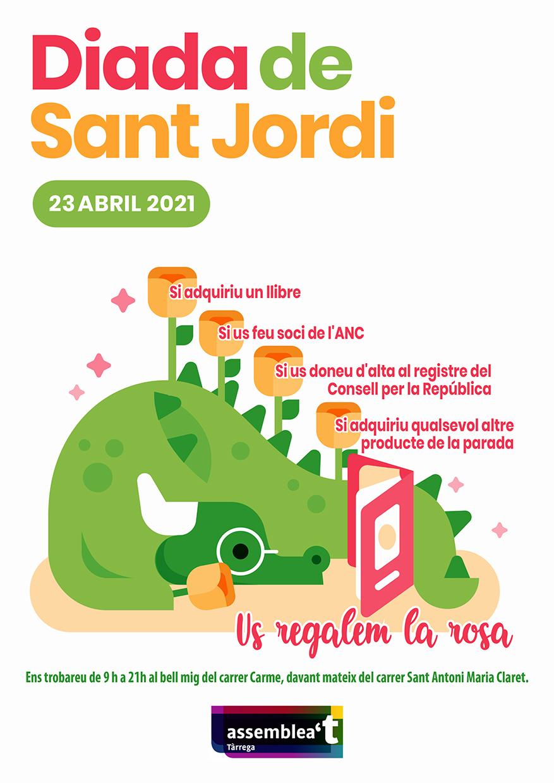 Parada per la Diada de Sant Jordi