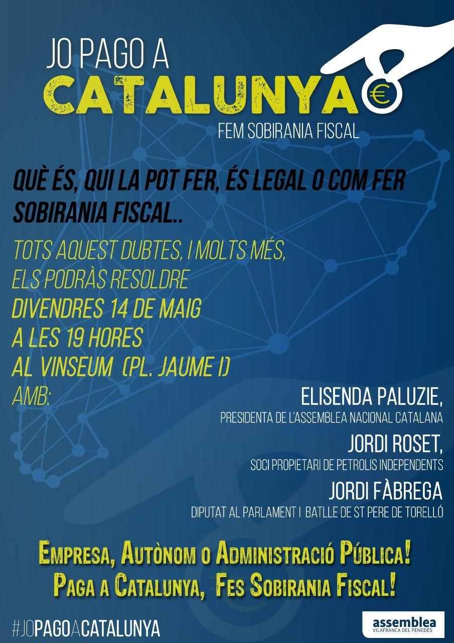 Presentació Sobirania Fiscal a Vilafranca del Penedès