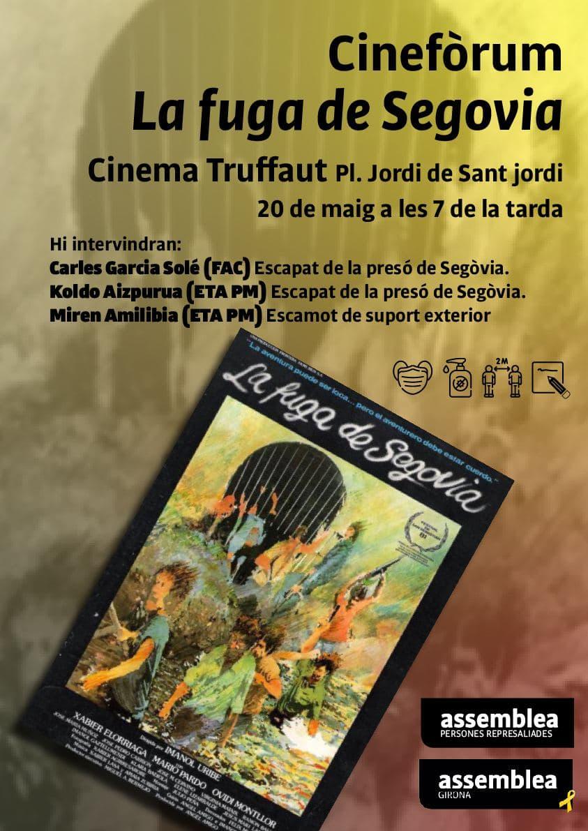 Cinefòrum La fuga de Segovia