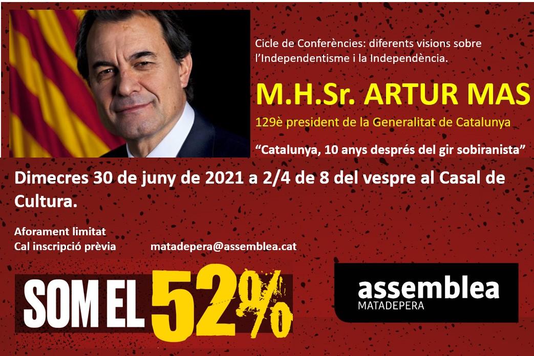 Conferència MHP Artur Mas