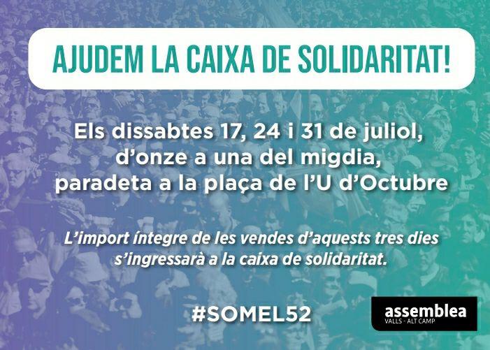 Ajudem a la Caixa de Solidaritat