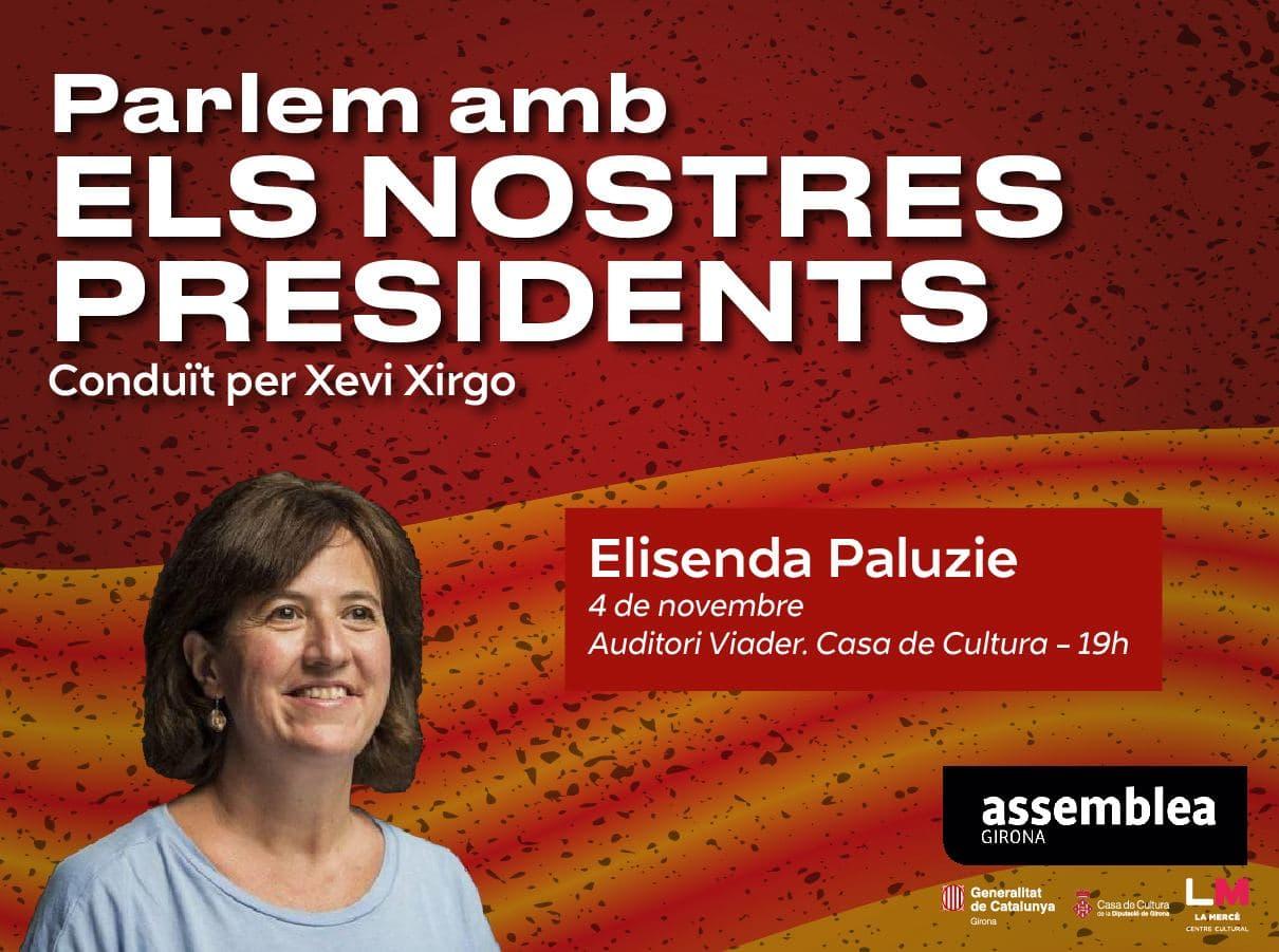 Parlem amb els nostres presidents. Elisenda Paluzie