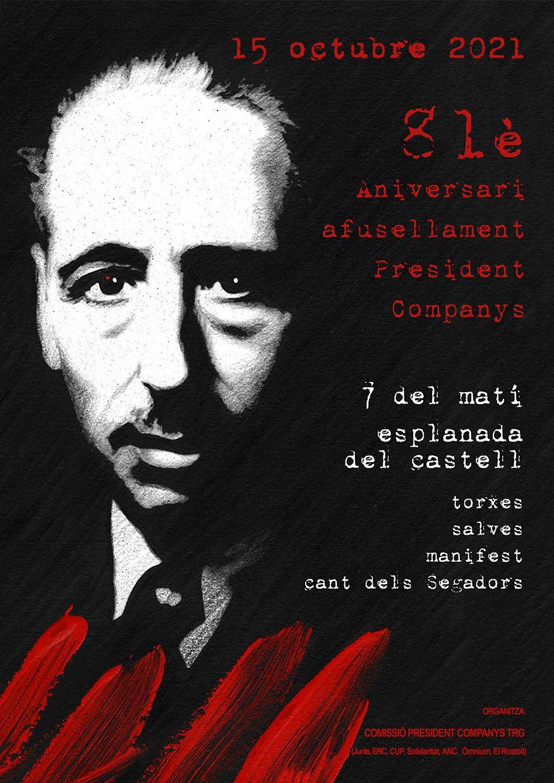 81è Aniversari afusellament President Companys