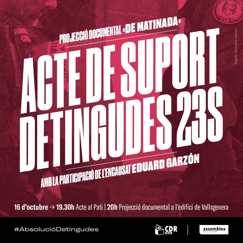Acte de suport detingudes 23S