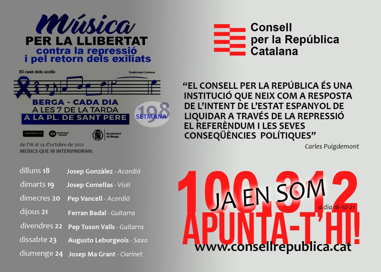Música per la llibertat setmana 198
